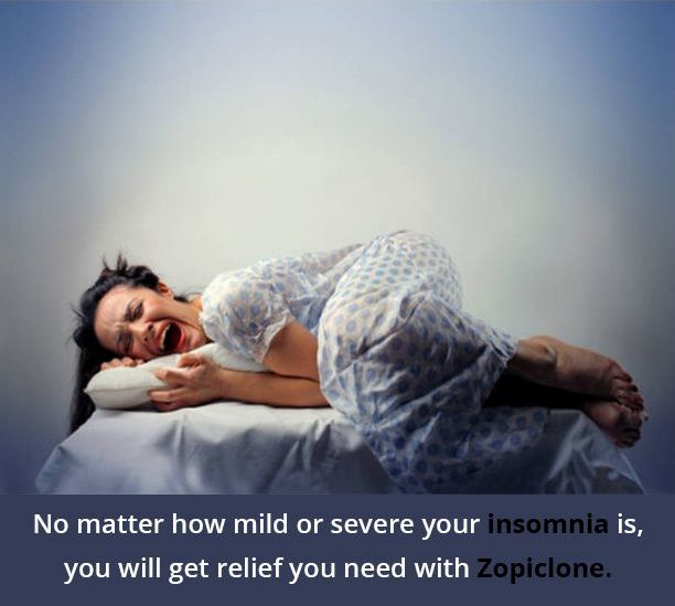 Zopiclone For People Who Are Suffering With Insomnia In