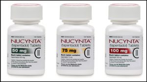 treats moderate or severe pain with Nucynta